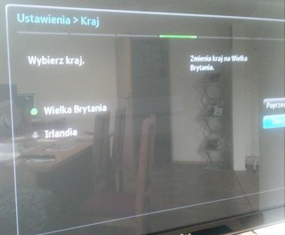 Samsung BD-E8500M nie wyszukuje polskich kana��w TV cyfrowej
