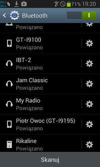 Huawei P9 Lite - Połączenie głośnika bluetooth z telefonem