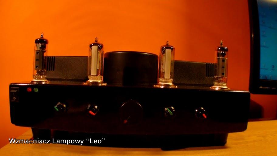"""Wzmacniacz lampowy """"Leo"""" (ECL86 + EM84)"""