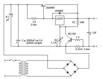 Ładowarka akumulatorów żelowych - zasilanie z innego zasilacza.