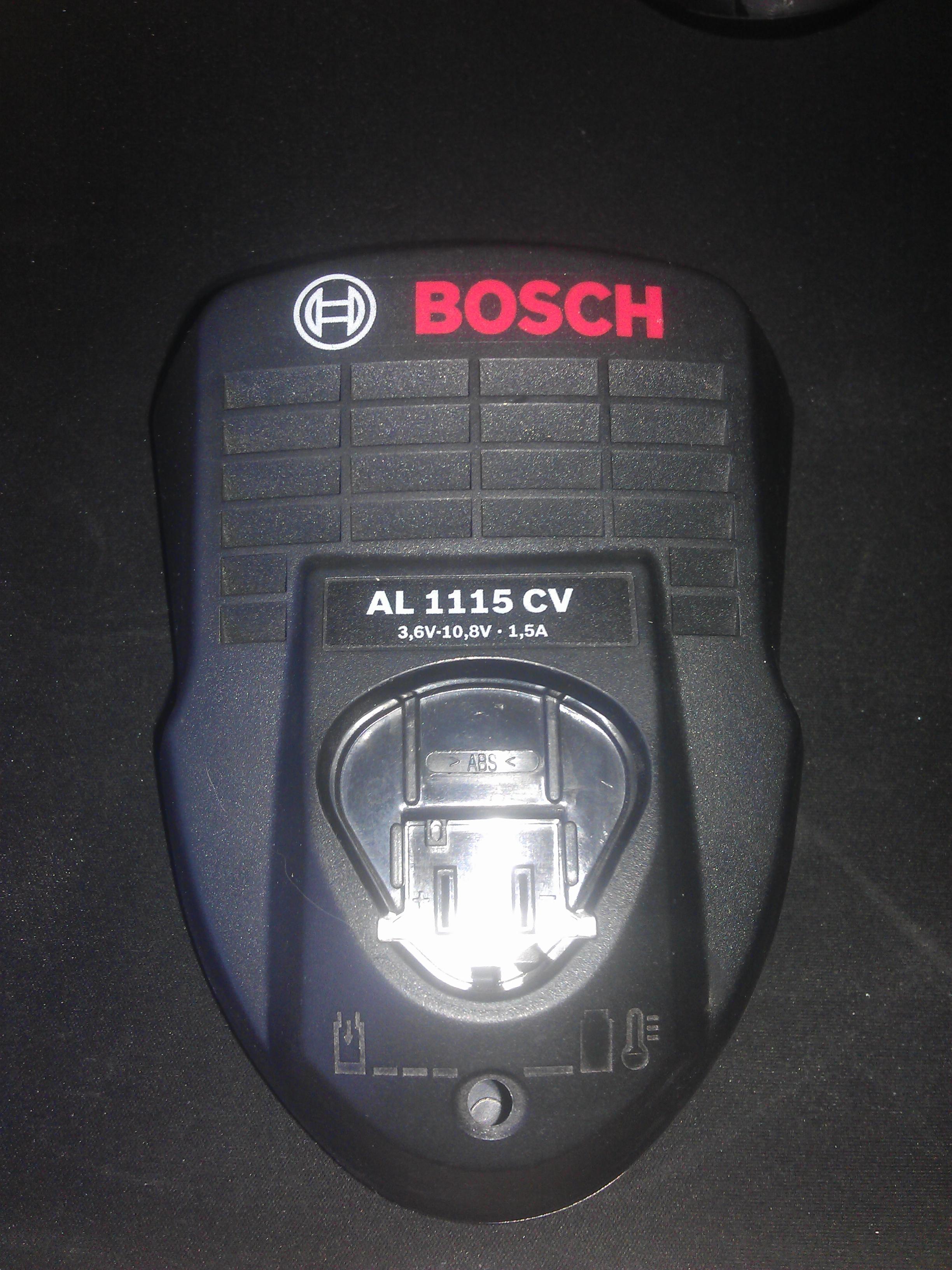 Bosch AL 1115 CV - Natychmiast pali bezpiecznik.