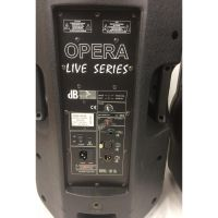 Kolumna Aktywna dB Technologies Opera Live 205. Zepsute POTENCJOMETRY.