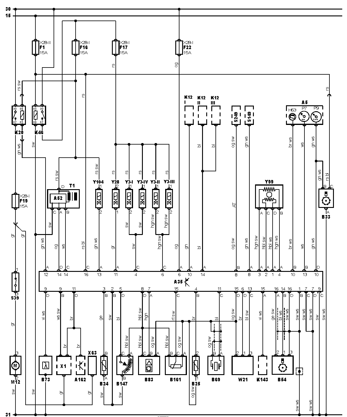 Daewoo Nubira 2.0 1998  - Czujnik pr�dko�ci