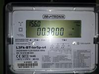 Licznik JM TRONIK L3Fk - jak odczyta� kod 15.7.0 - moc czynna chwilowa.