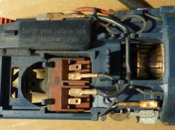 Bosch GWS 850 CE działała, a po kilkumiesięcznej przerwie nie. Inne połączenia.