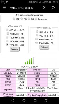 Dobór anteny LTE agregacja 2600*1800