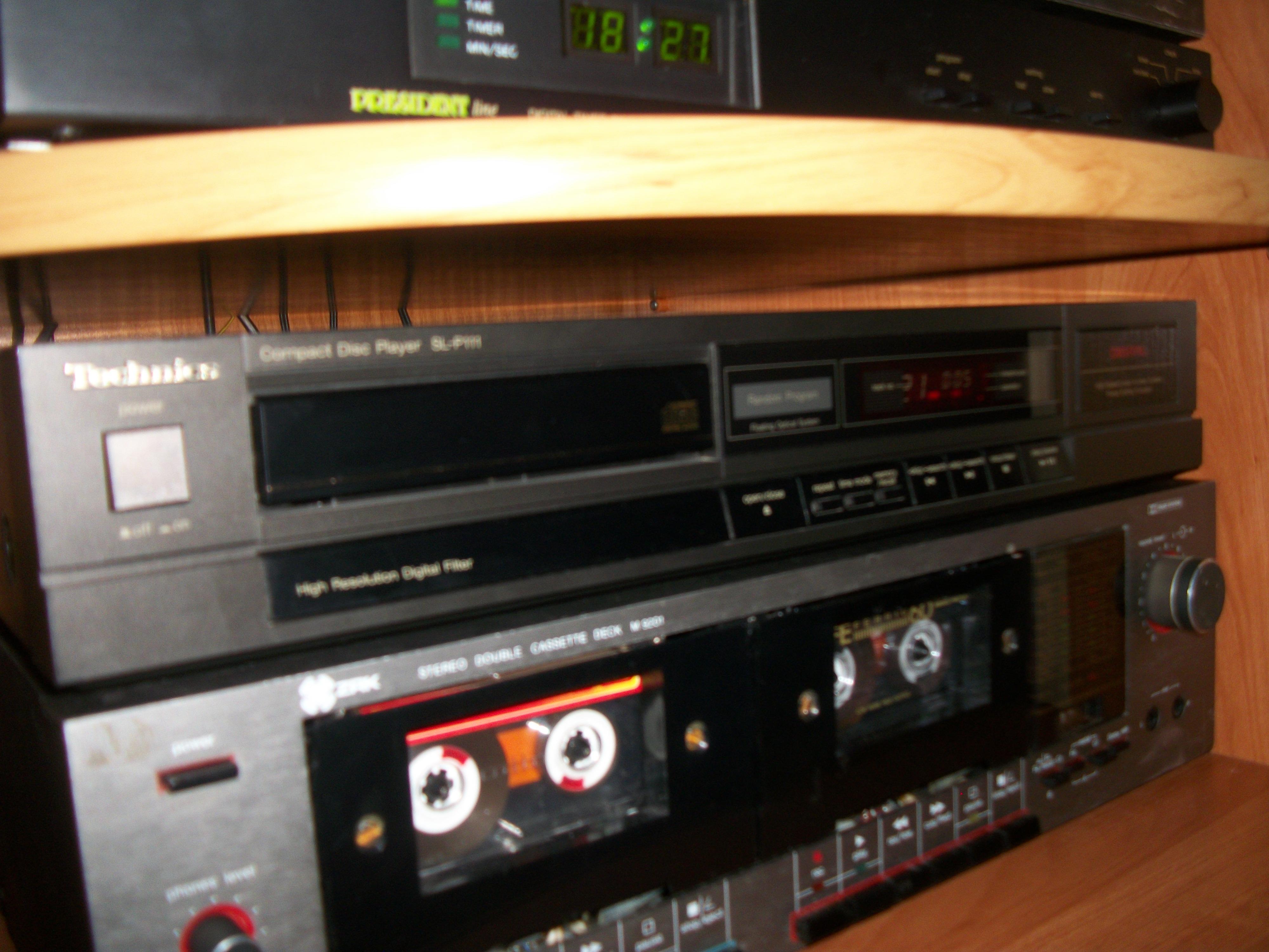 [Sprzedam] Odtwarzacz CD Technics SL-P111