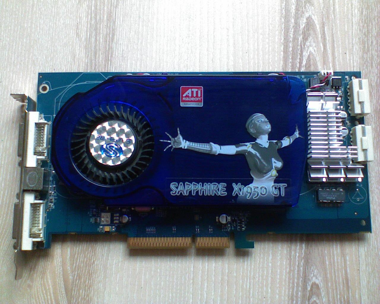 [Sprzedam] Wydajniejszy od 7600GT - Radeon X1950GT OC do wersji PRO z Gwarancj�!