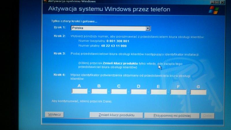 Acer Aspire 5610 - po wymianie dysku, sk�d wzi�� p�yt� z XP Media Center?