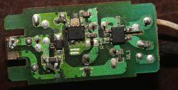 Zepsuty moduł zasilający żarówki LED 230V