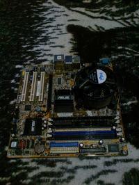 [Sprzedam] Asus P5GD1 + Celeron 2.53 + 768MB DDR