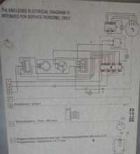 Kuchnia Ardo CT6640EF upalony przełącznik piekarnika