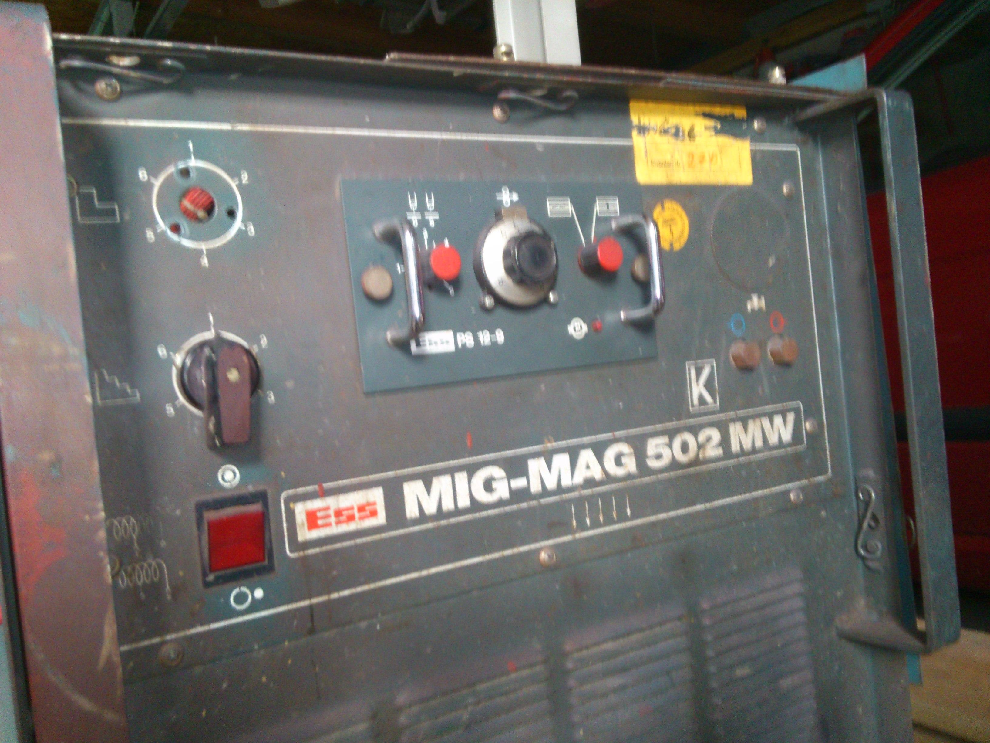 ESS MIG-MAG 502 MW - Prze��cznik zakres�w pr�du