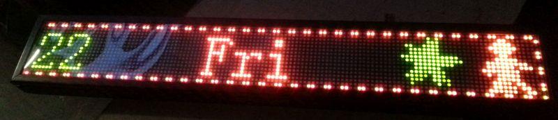 Reklama LED ODER 22W 32X1700mcd - jak zaprogramować treść