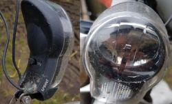 Oświetlenie rowerowe z podtrzymaniem