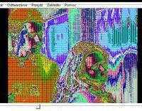 Toshiba Satellite P100 - Uszkodzona grafika