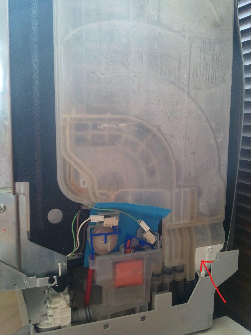 Zmywarka Fagor LF-020SX wentylator przecieka