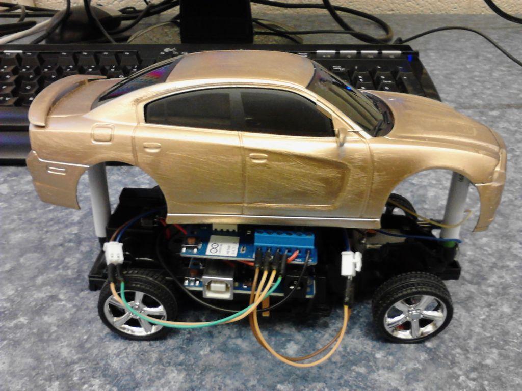 Autonomiczne auto z wykorzystaniem platformy Arduino