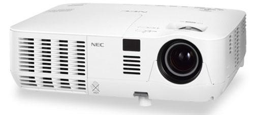NP-V300X - nowy projektor multimedialny od NEC