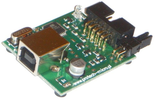 Programator USBasp nie zwalnia pinów.