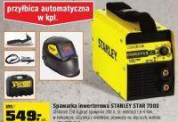 Spawarka inwertorowa STANLEY STAR 7000 200A. Czy warto kupić?