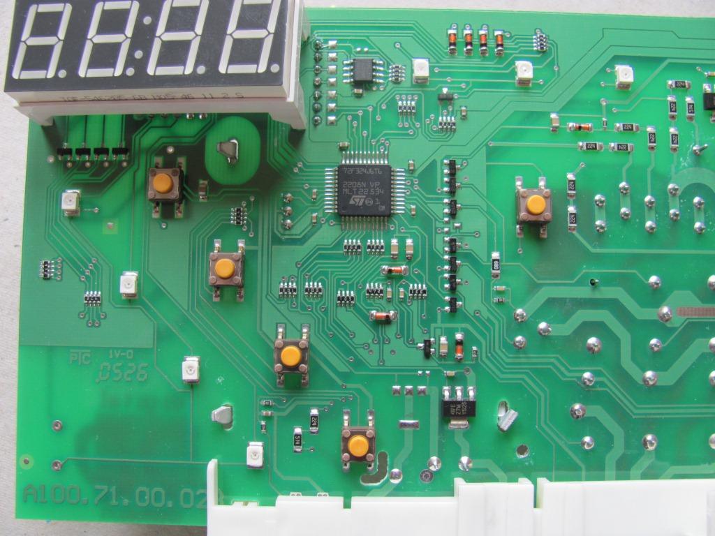 Pralka AMICA PC5510B425 b��d E07 - uszkodzony modu�