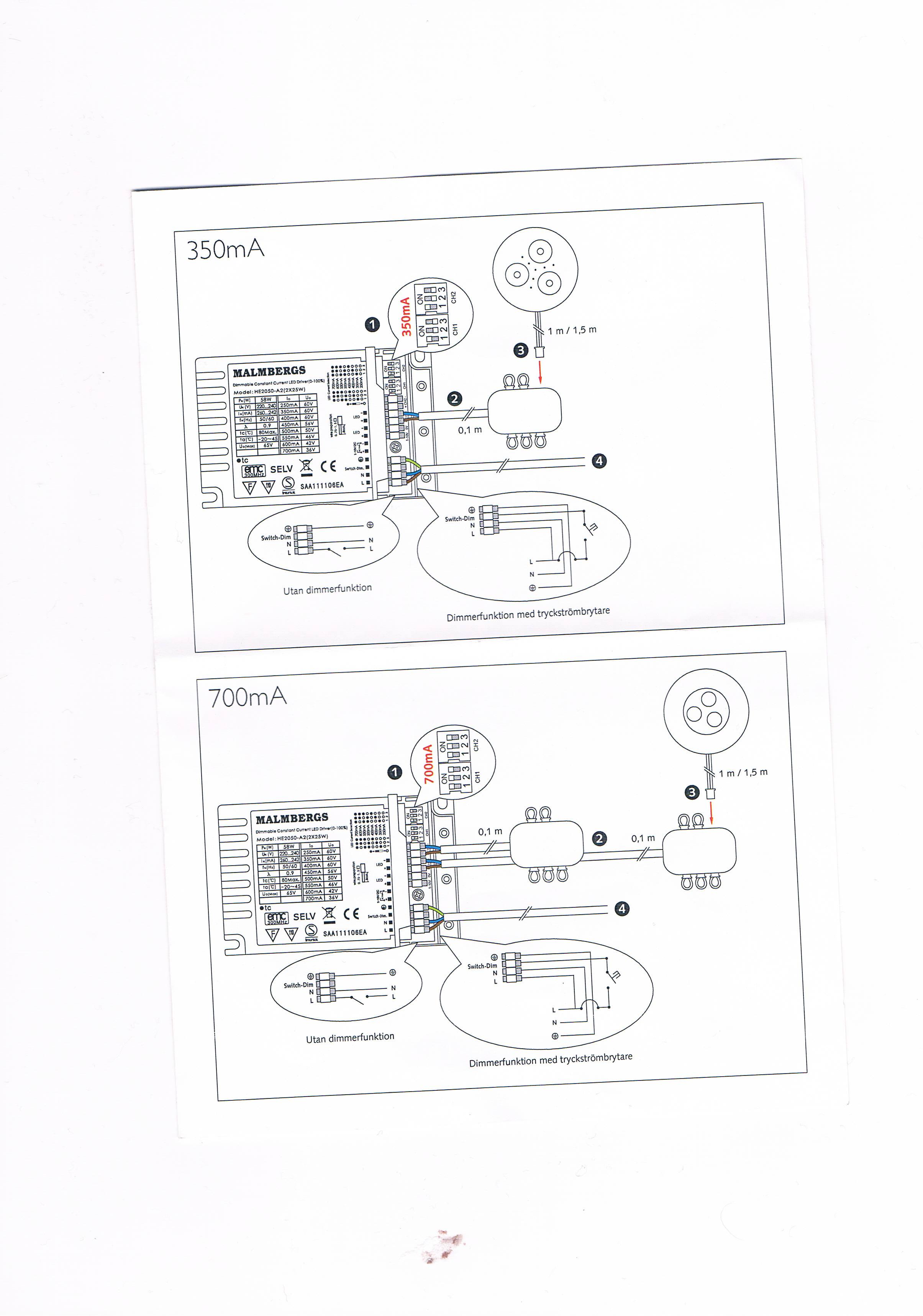 Transformator o�wietlenia Led
