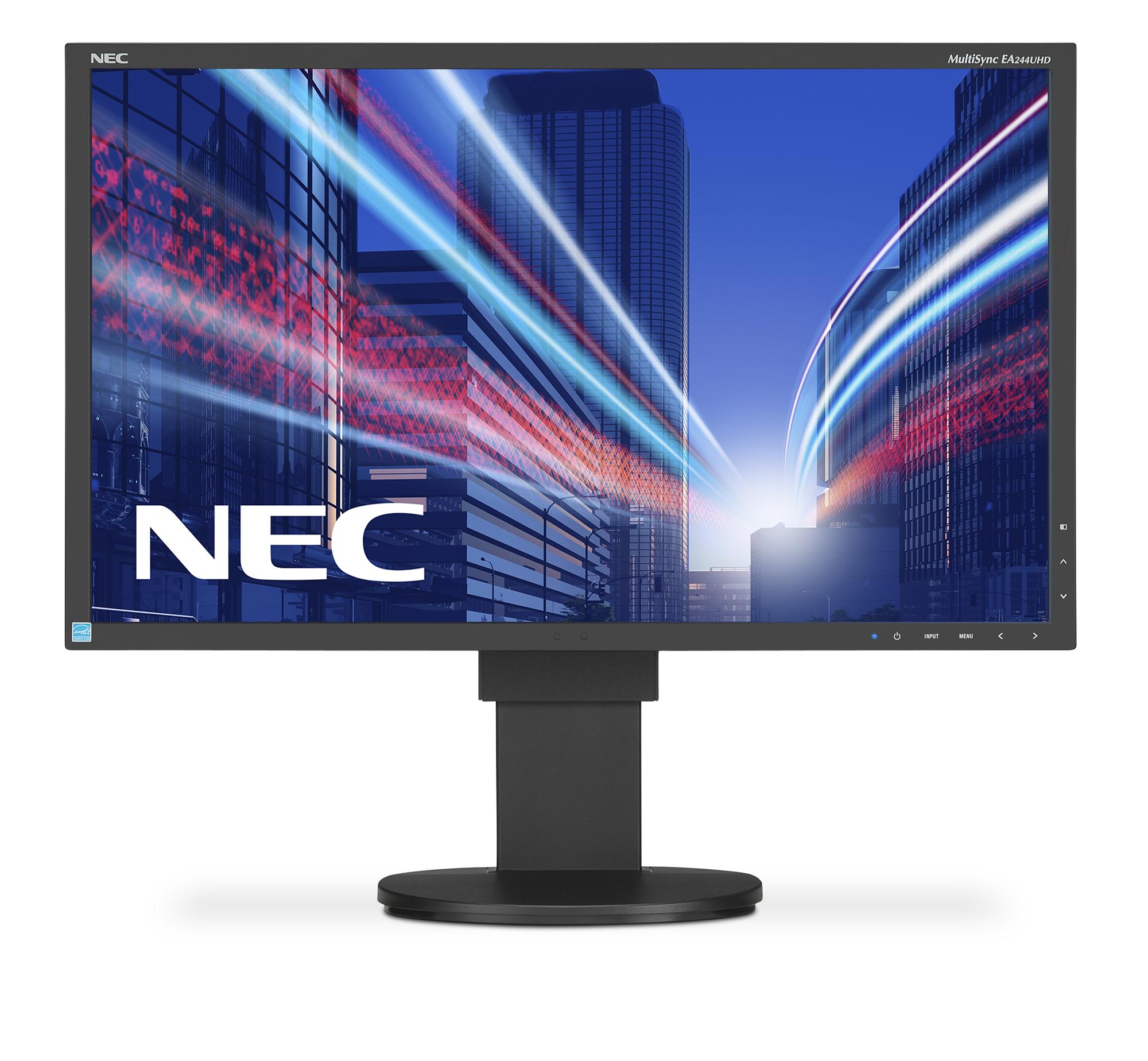 NEC MultiSync EA244UHD - 24-calowy monitor Ultra HD (3840 x 2160)