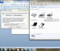 MS Word Starter nie widzi drukarki HP LaserJet 1018 (Windows 7 64bit)