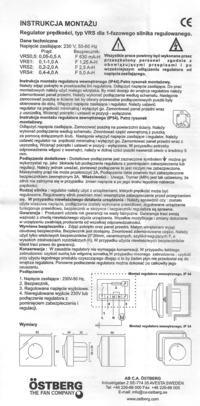 Podlaczenie silnika jednofazowego z kondensatorem oraz regulacja obrotow.