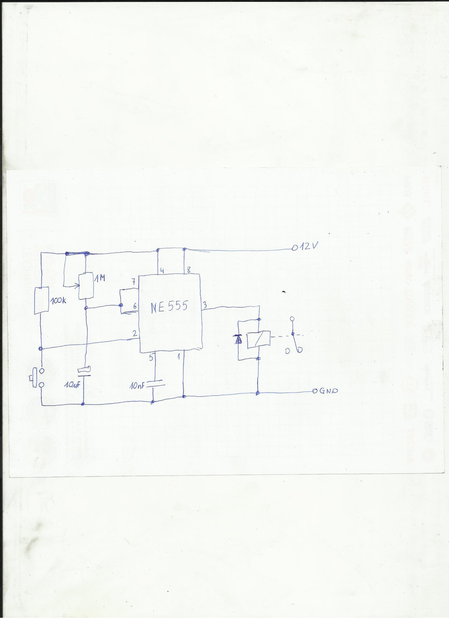 Schemat prostego przeka�nika czasowego sprawdzenie schematu