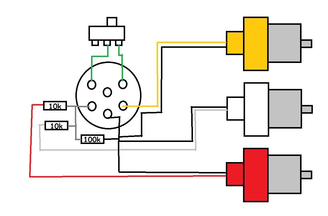 kabel av rca do heliosa/neptuna konsultacja schematu