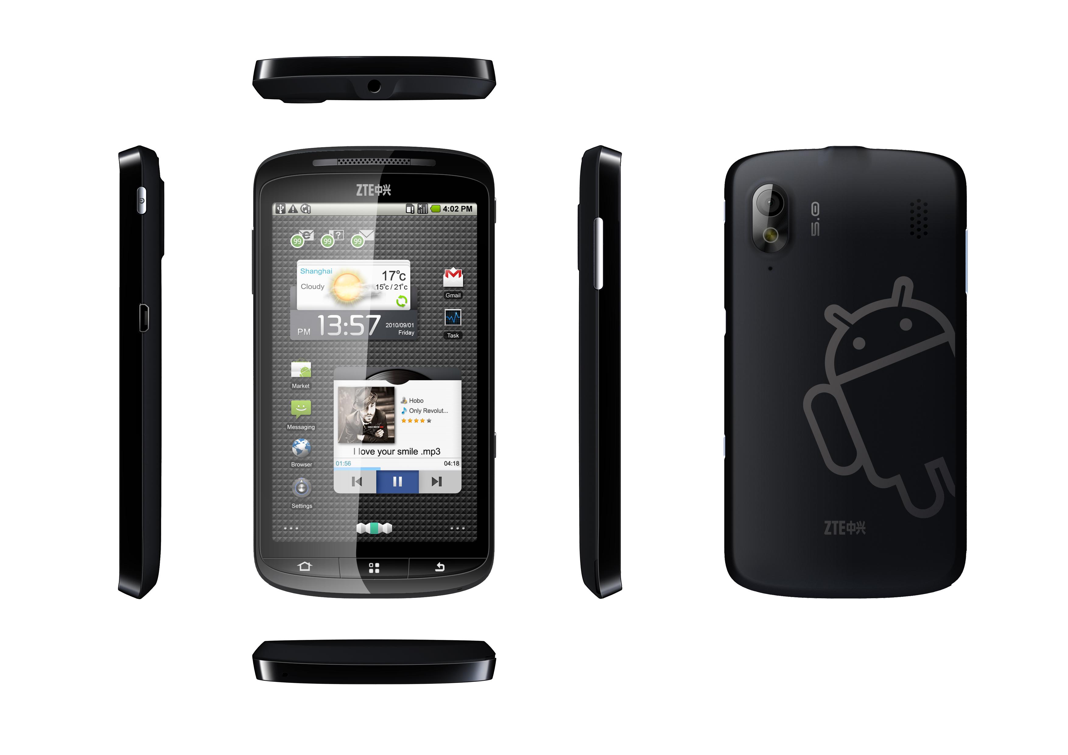 Skate - nowy flagowy telefon typu smartfon od ZTE ju� w sprzeda�y