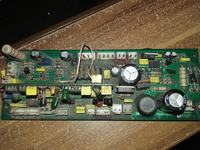 Płytka ze spawarki AC DC 200 Magnum/Sherman - brak elementu