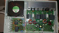 Płyta indukcyjna Amica PI6540 TK - mocno się nagrzewa