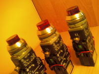 [Sprzedam] Przyciski sterownicze pod�wietlane NEF30WLT kolor czerwony