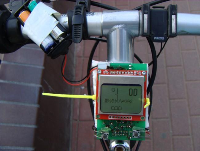 Licznik rowerowy na bazie AVR