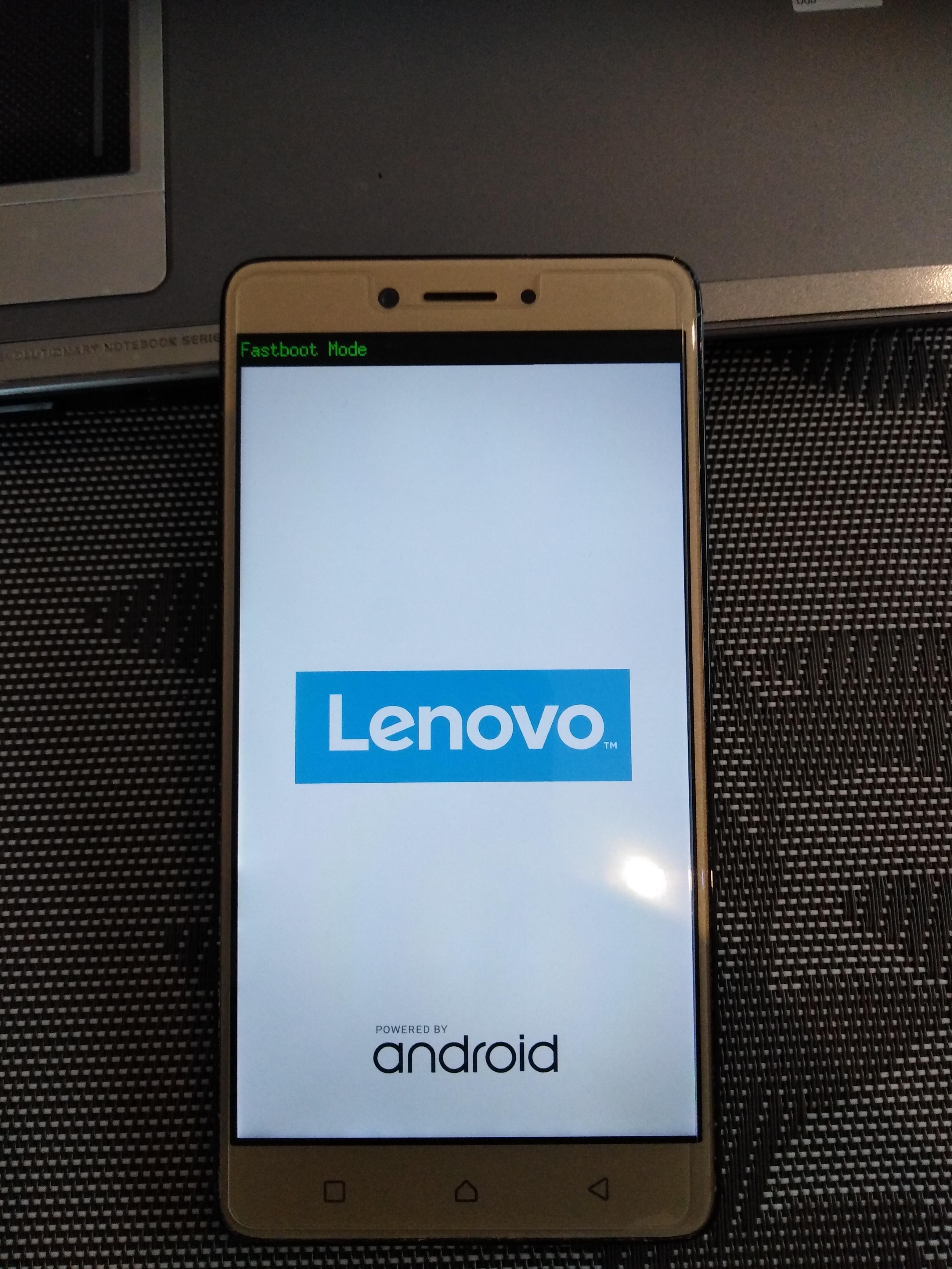 Fastboot Mode Lenovo