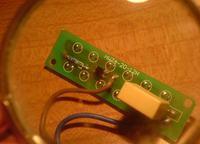 Oprawa diodowa LED naprawa zasilania