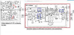 SONY STR-DB925 - brak dźwięku na złączach głośnikowych.