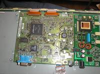 "IIYAMA ProLite E380S 15"" w projektorze - brak treści obrazu"
