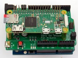 Nakładka/płyta bazowa Raspberry Pi Zero (W) Shield for Arduino