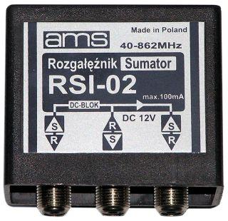 Zwrotnica,ams,RSI-02,po��czenie dw�ch anten UHF