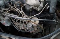 MB 100 - Mercedes MB 100 nie mo�na wy��czy� silnika stacyjk�.