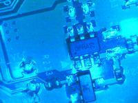 UE32F5700A - Uszkodzony element na płycie BN41-01958A(BN94-06295)