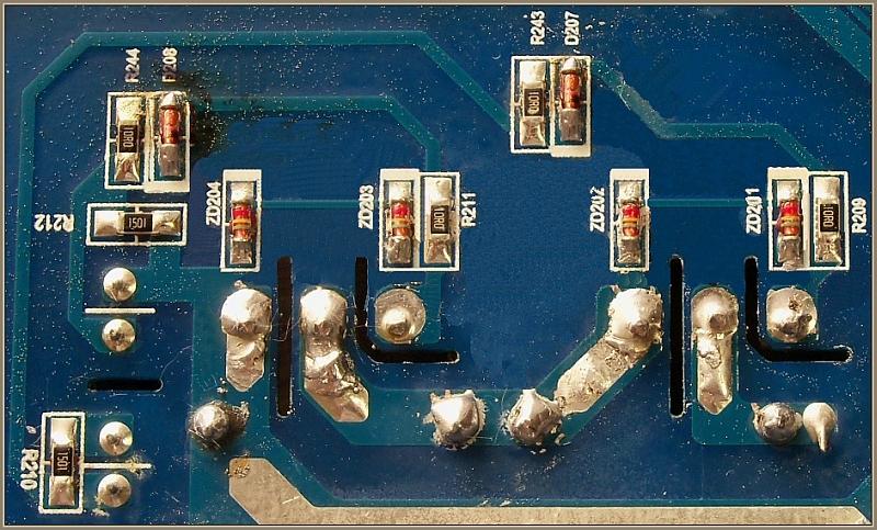 Samsung CTN264EA01-płyta indukcyjna po wymianie IGBT i mostka ponownie je pali
