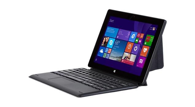 Croma 1177 - 10.1-calowy konwertowalny tablet z procesorem Intel Atom Z3735D.