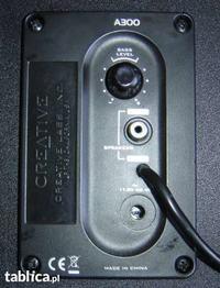 Jak połączyć słuchawki philips SHP2500 i Głośniki Creative A300