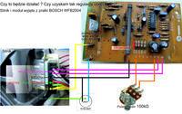 Regulacja prędkości obrotowej silnika z prądnicą tacho.