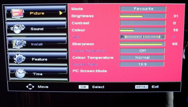 DAEWOO LT32L1  - Miga dioda standby